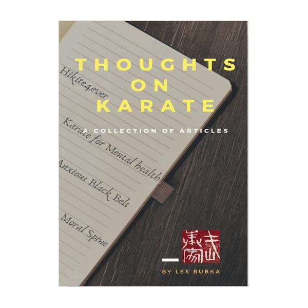 Thoughts On Karate: A Collection Of Articles Paperback